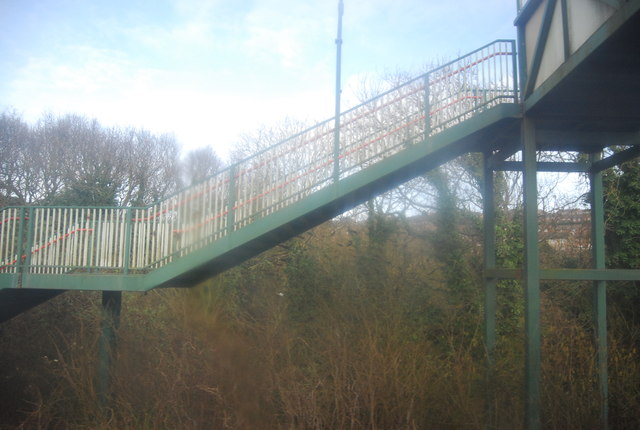 Footbridge over the Hastings Line