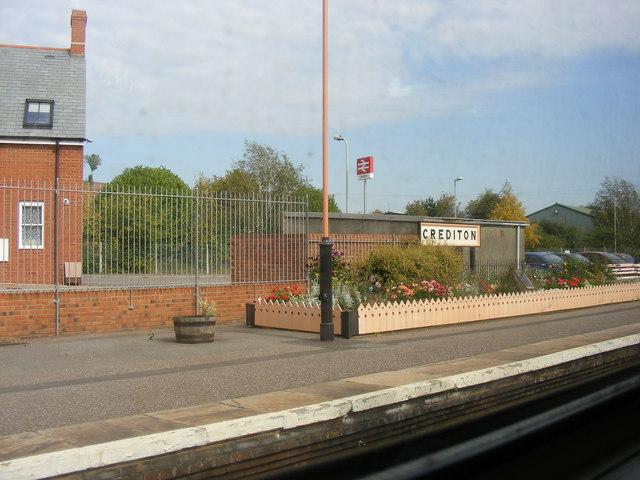 Crediton Railway Station