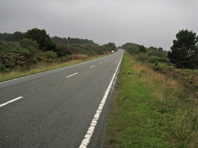 A87 heading onto Skye