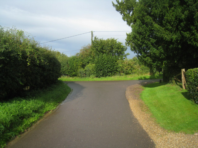 Lane by the church