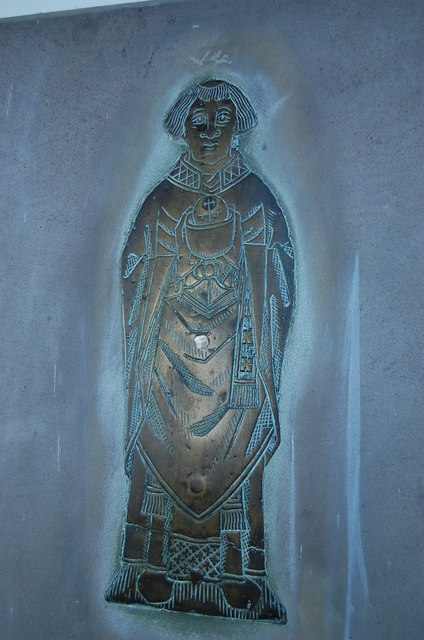 Brass in Church of St Augustine, Brookland