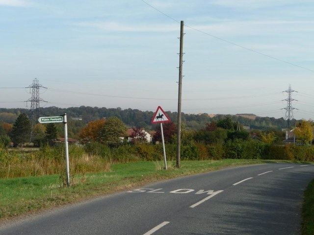 Road signs, Moorhouse Lane