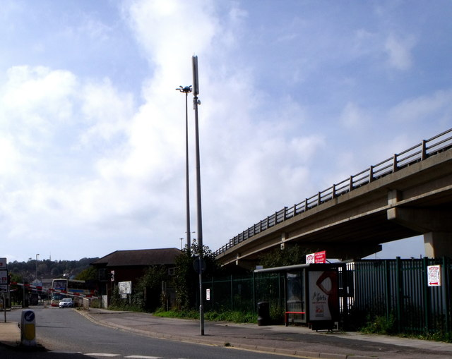 Level Crossing and bridge, Newhaven