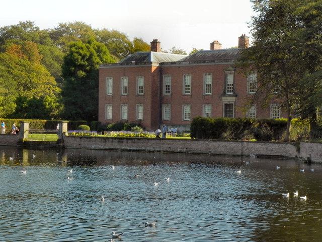 Dunham Massey Hall and Moat