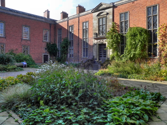 Dunham Massey Hall Inner Courtyard