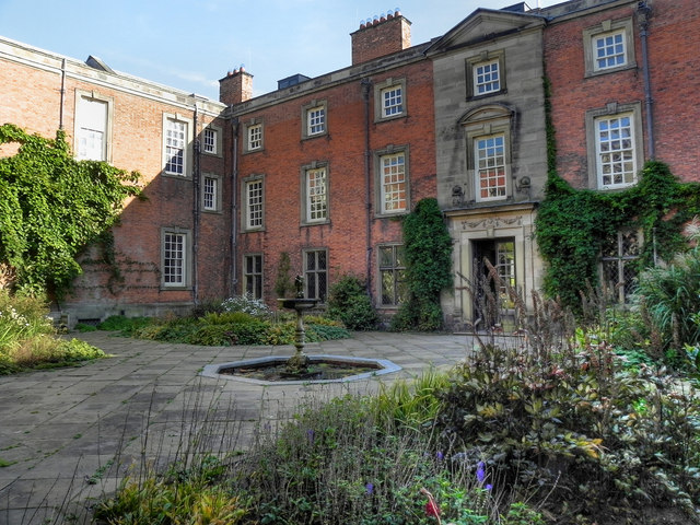 The Inner Courtyard, Dunham Massey Hall