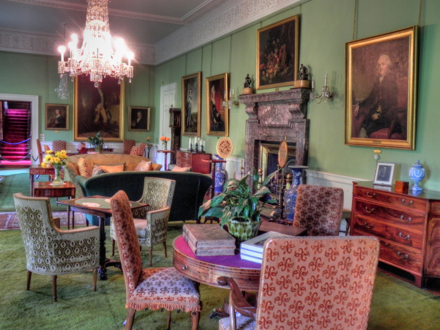 The Saloon, Dunham Massey Hall