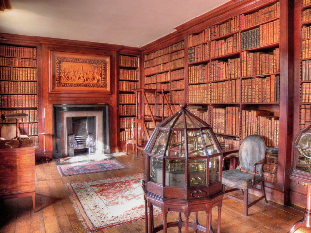 The Library Dunham Massey Hall 169 David Dixon Cc By Sa 2 0