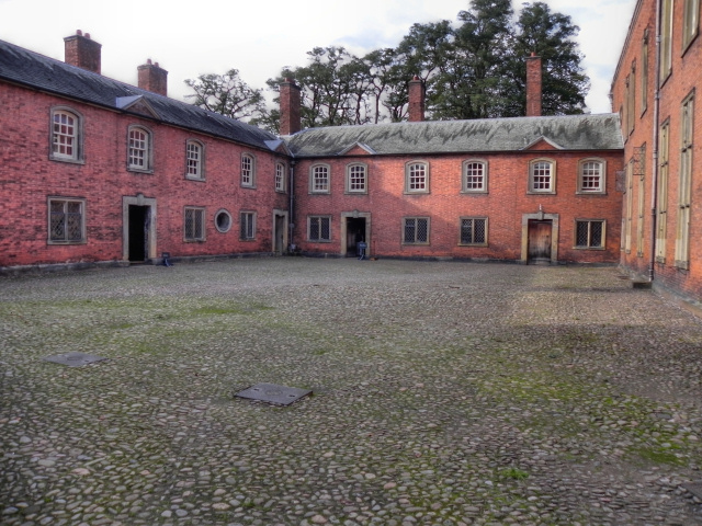 The Kitchen Courtyard, Dunham Massey Hall