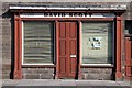 NT9952 : An old shop front at Berwick-upon-Tweed by Walter Baxter