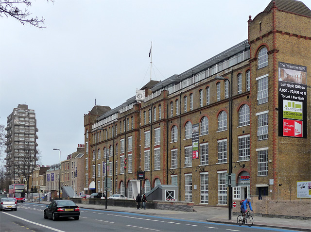 Former printing works, Clapham Road