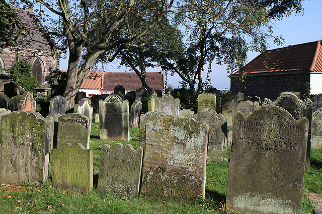 St Bartholomew and St Boisil Churchyard at Tweedmouth