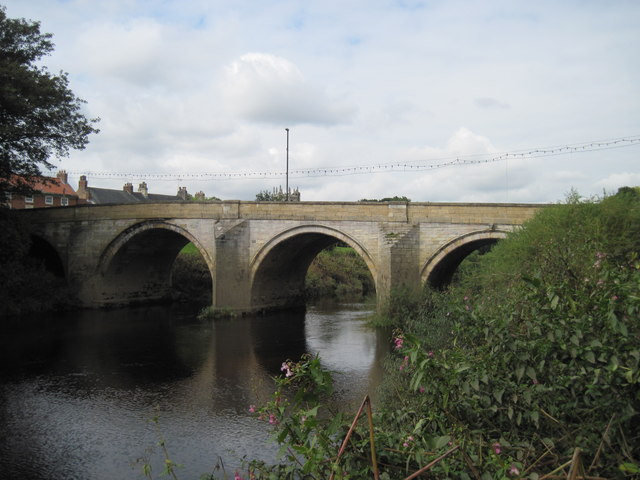 Bridge  over  River  Wharfe  Tadcaster