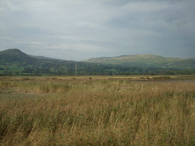 View towards Tal y Fan