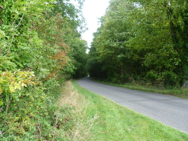Ketton Road passes through New Wood
