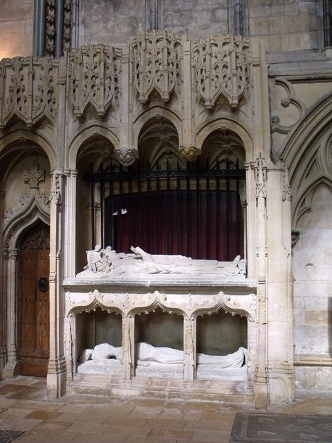 Tomb Of Bishop Richard Fleming Lincoln 169 J Hannan