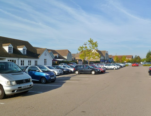 Bicester Village Car Park Mike Faherty Geograph