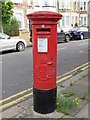 TQ2382 : Edward VII postbox, Wakeman Road / Rainham Road, NW10 by Mike Quinn