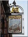 TQ2382 : Sign for The Mason's Arms, Harrow Road, NW10 by Mike Quinn