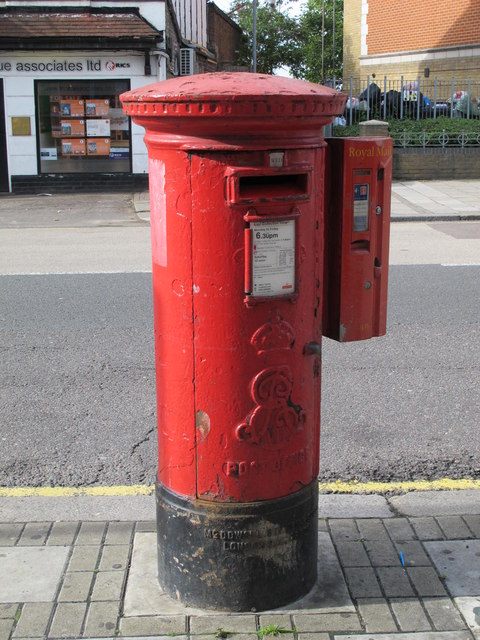 Edward VII postbox, Harrow Road / Felixstowe Road, NW10
