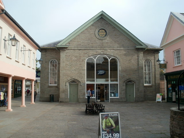 Boots Brecon, formerly a church