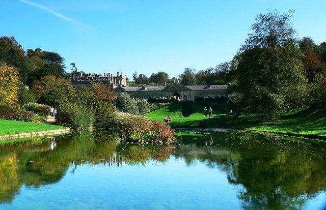 Pond, Dyrham Park