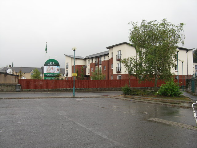 Retirement houses at Forfar