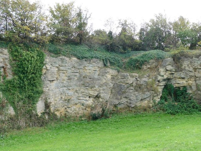 Southern face, former South Elmsall Quarry