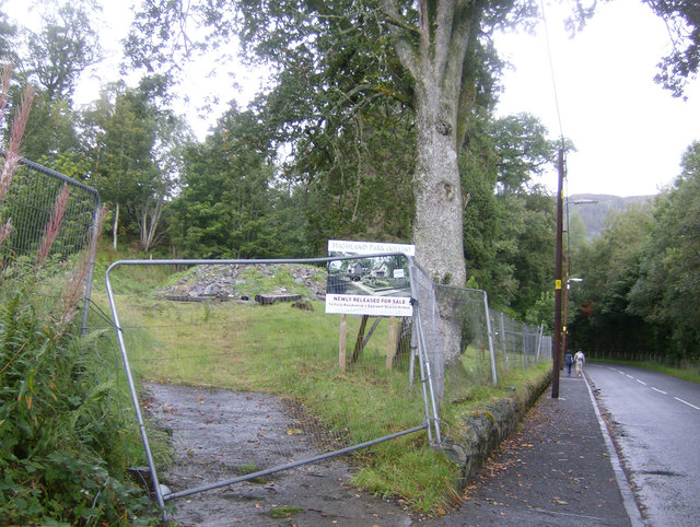 Killin Youth Hostel, demolished