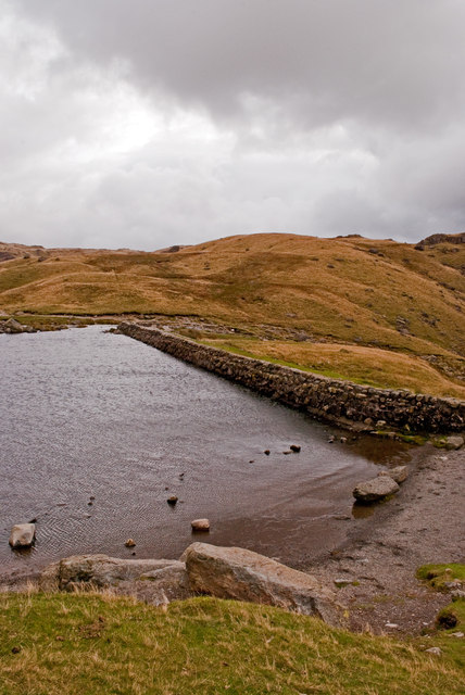 The Dam at Stickle Tarn