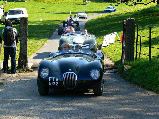 C-Type Jaguars, 'Spirit of the 60s' 02 October 2011 Dyrham Park