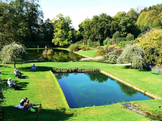 Ponds, Dyrham Park