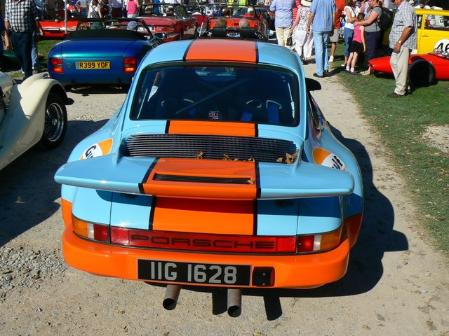 Porsche 911, 'Spirit of the 60s' 02 October 2011 Dyrham Park