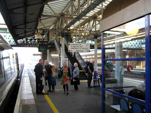 Exeter St. David's Railway Station Platform 4