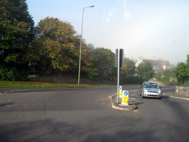 Galmpton A3022 Junction With A379