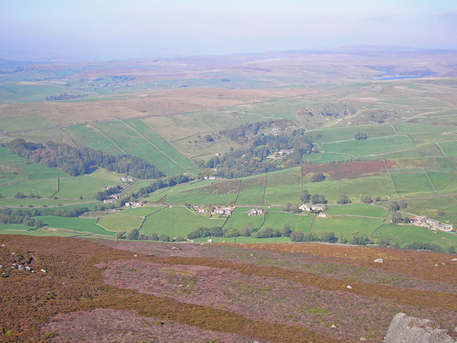 Parceval Hall seen from Simon's Seat