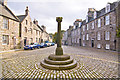 NJ9308 : Mercat Cross and High street, Old Aberdeen by Alan Findlay