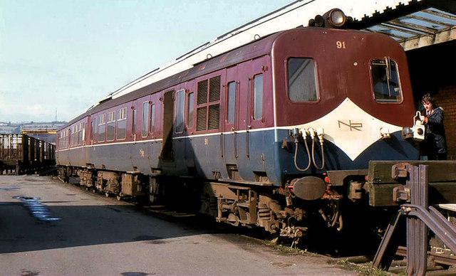 Quot 80 Quot Class Railcars Larne Harbour 169 Albert Bridge Cc By