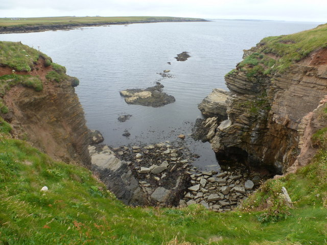 Westray: small inlet of Rack Wick