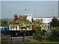 SD8010 : A floral display on Jubilee Way, Bury by Ian S