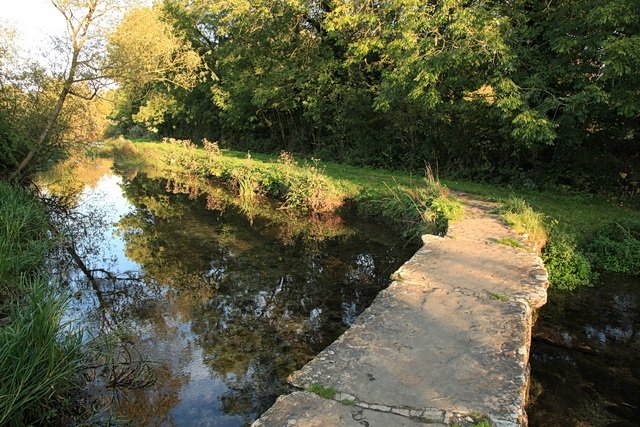Footbridge over the River Leach, Eastleach