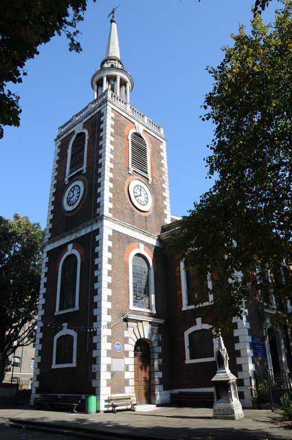 St Mary the Virgin church, Rotherhithe
