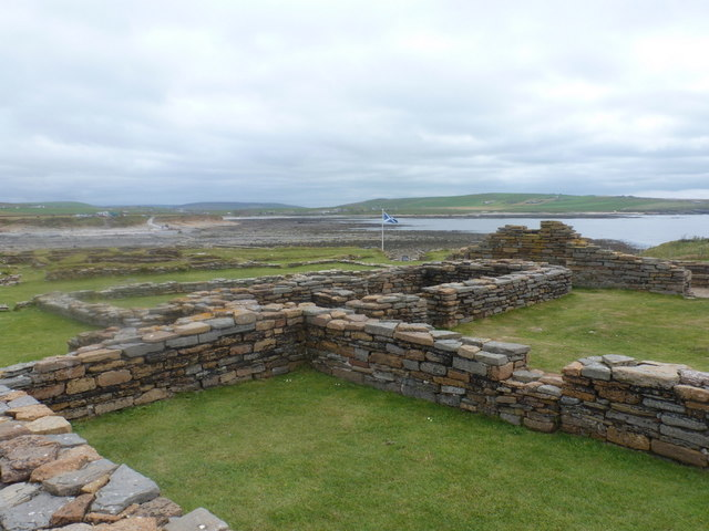 Birsay: within the Viking remains