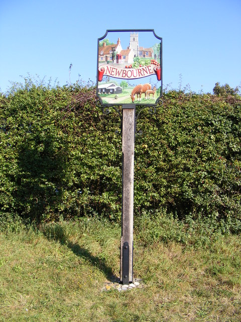 Newbourne Village Sign
