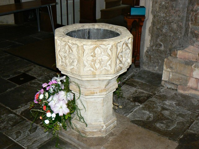Font, St Mary's Church, Marlborough