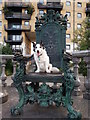 TQ3777 : Jack on his throne, Deptford by David Anstiss