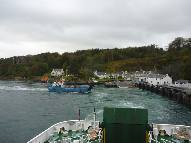 Arrival and Departure at Port Askaig, Islay