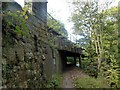 SK2860 : Footpath under the railway viaduct by Graham Hogg