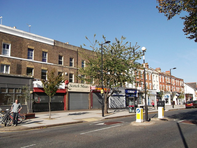 Row of Shops, Rosendale Road