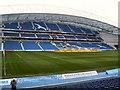 TQ3408 : West Stand - Amex Stadium by Paul Gillett